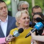 Aproape 1,5 milioane de români au semnat pentru candidatura Premierul Viorica Dăncilă