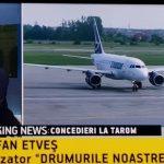 VIDEO! Ștefan Etves on-line TAROM pierde 4,6 euro/secundă
