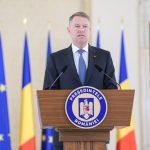 Președintele Iohannis, declarație de presă