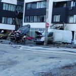 Explozie într-un bloc din Galați, soldată cu victime